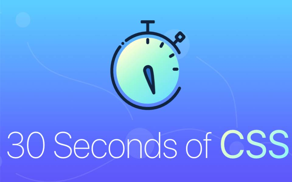 CSS (30 segundos) - Sites Sorocaba