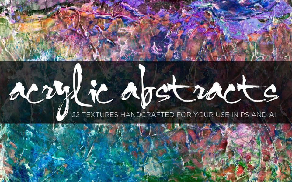 Abstratos Acrílicos