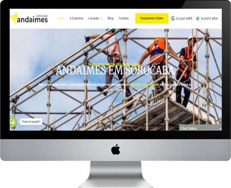 Andaimes Sorocaba: Site de Locação de Andaimes elaborado pela nossa equipe