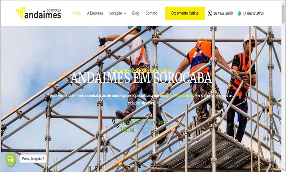 Andaimes Sorocaba: Site de Locação de Andaimes Criado e Elaborado pela Equipe